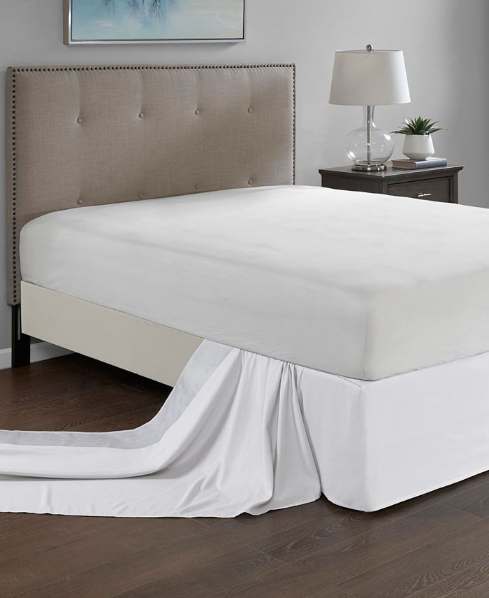 Madison Park - Simple Fit One Size Wrap Around Adjustable Bedskirt