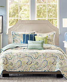 Madison Park Tamira 6-Pc. Coverlet Sets