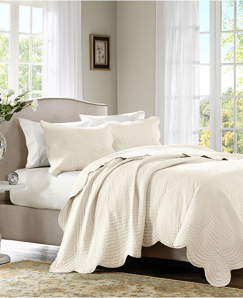 Madison Park Tuscany 3-Pc. Coverlet Sets