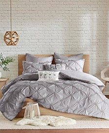 Talia 7-Pc. Full/Queen Duvet Cover Set