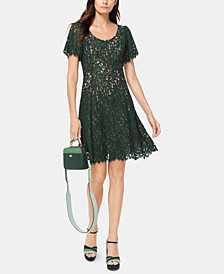 MICHAEL Michael Kors Lace A-Line Dress