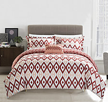 Chic Home Normani 6 Pc Twin  Duvet Set