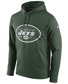 Men's New York Jets Performance Circuit Logo Essential Hoodie