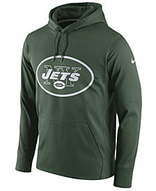 Nike Men's New York Jets Performance Circuit Logo Essential Hoodie