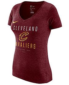 Nike Women's Cleveland Cavaliers Dri V-Neck T-Shirt