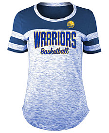 5th & Ocean Women's Golden State Warriors Spacedye T-Shirt