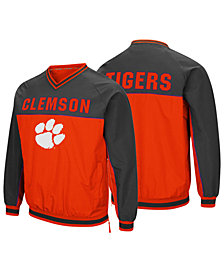 Colosseum Men's Clemson Tigers Windbreaker Pullover Jacket