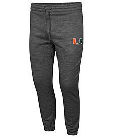 Colosseum Men's Miami Hurricanes Fleece Jogger Pants