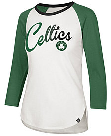 '47 Brand Women's Boston Celtics Splitter Ombre Raglan T-Shirt