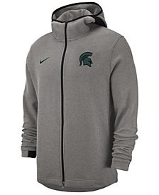 Nike Men's Michigan State Spartans Showtime Full-Zip Hooded Jacket