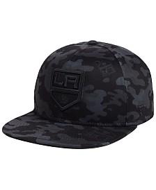Authentic NHL Headwear Los Angeles Kings Mute Camo Snapback Cap