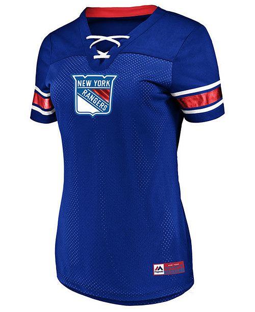 Majestic Women's New York Rangers Draft Me T-Shirt