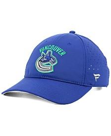 Authentic NHL Headwear Vancouver Canucks Pro Clutch Adjustable Cap