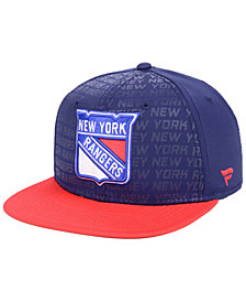 Authentic NHL Headwear New York Rangers Rinkside Snapback Cap