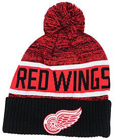 Authentic NHL Headwear Detroit Red Wings Goalie Knit Hat