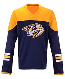 Nashville Predators Defenseman Fleece Sweatshirt, Big Boys (8-20)