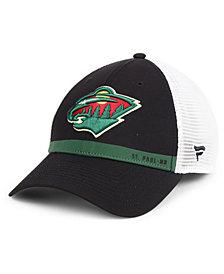 Authentic NHL Headwear Minnesota Wild Rinkside Trucker Adjustable Cap