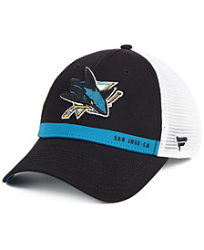 Authentic NHL Headwear San Jose Sharks Rinkside Trucker Adjustable Cap
