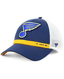 Authentic NHL Headwear St. Louis Blues Rinkside Trucker Adjustable Cap