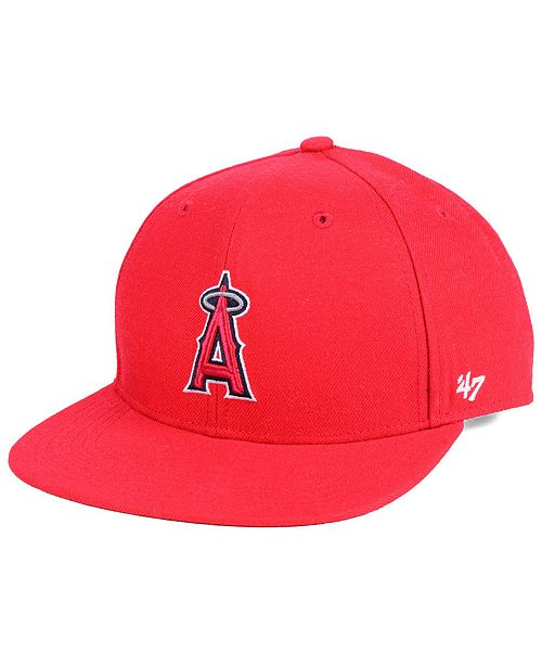 sports shoes 86aee eac62  47 Brand Boys  Los Angeles Angels Basic Snapback ...
