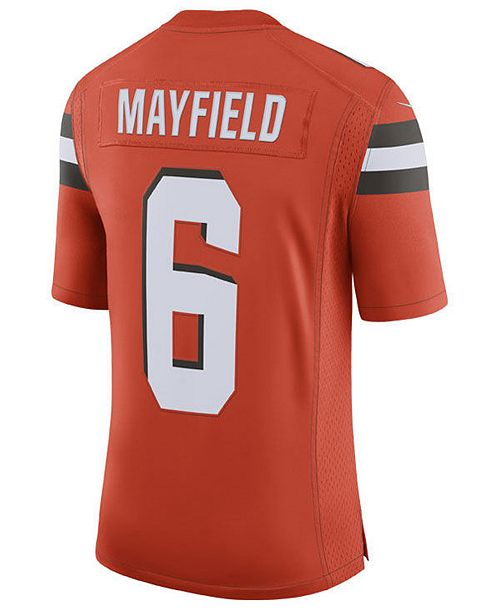 Nike Men s Baker Mayfield Cleveland Browns Limited Jersey - Sports ... 7941894cd