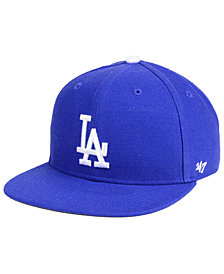 '47 Brand Boys' Los Angeles Dodgers Basic Snapback Cap