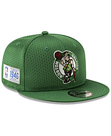 New Era Boston Celtics Jock Tag 9FIFTY Snapback Cap