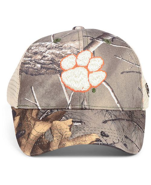 super popular ba26d 422d3 ... cheap top of the world clemson tigers prey meshback camo snapback cap  sports fan shop by