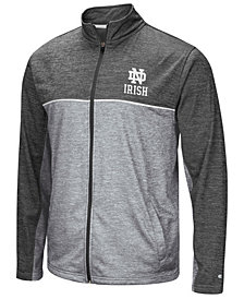 Colosseum Men's Notre Dame Fighting Irish Reflective Full-Zip Jacket