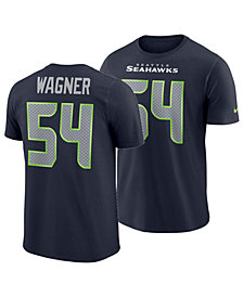 Nike Men's Bobby Wagner Seattle Seahawks Pride Name and Number Wordmark T-Shirt