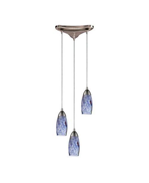 ELK Lighting Milan Collection - Starburst Blue
