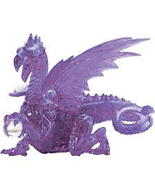3D Crystal Puzzle - Dragon (Purple): 56 Pcs