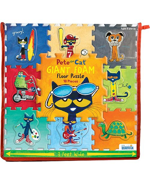 Areyougame Pete The Cat Giant Foam Floor Puzzle
