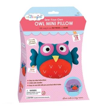 Sew-Your-Own Owl Mini Pillow