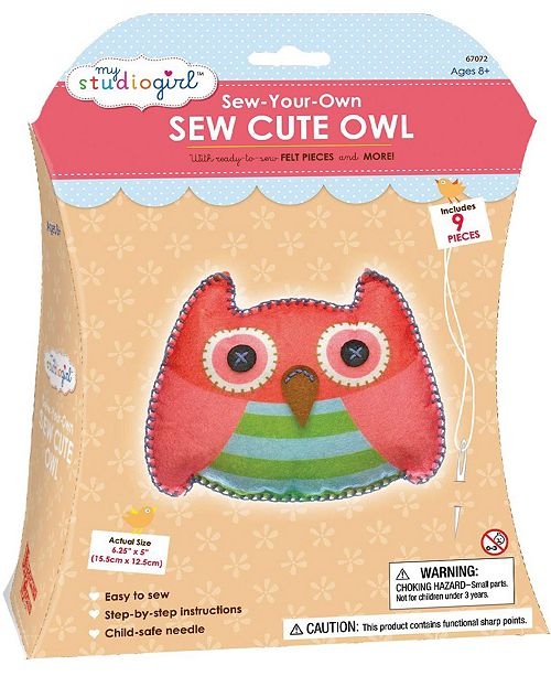 Areyougame Sew-Your-Own Sew Cute - Owl