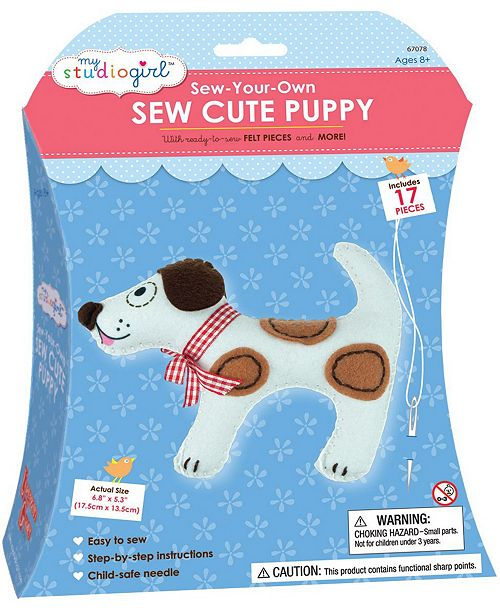 Areyougame Sew-Your-Own Sew Cute - Puppy