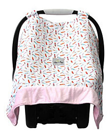 Cozy Happens Muslin Carseat Canopy