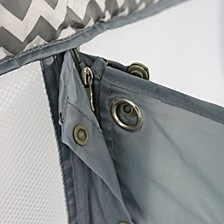Romp and Roost Luxe Waterproof Fitted Sheet with Divider