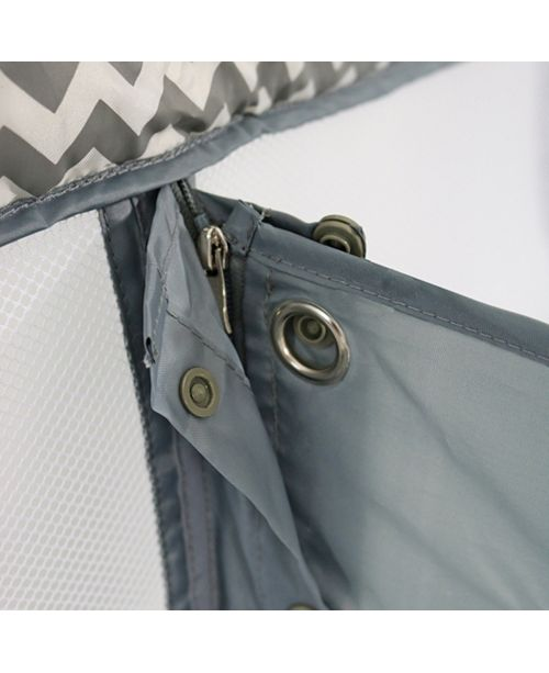 CAPPYBUG LLC/ROMP & ROOST Romp and Roost Luxe Waterproof Fitted Sheet with Divider