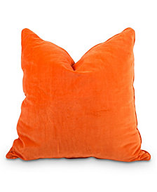 Velvet Pillow Orange