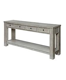Deston Farmhouse Sofa Table