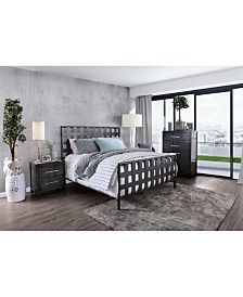 Bisquit Metal Woven Twin Bed