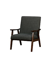 Excellent Furniture Of America Georgie Bucket Accent Chair Reviews Ncnpc Chair Design For Home Ncnpcorg