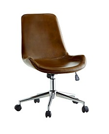 Ronnie-Anne Armless Height-Adjustable Office Chair
