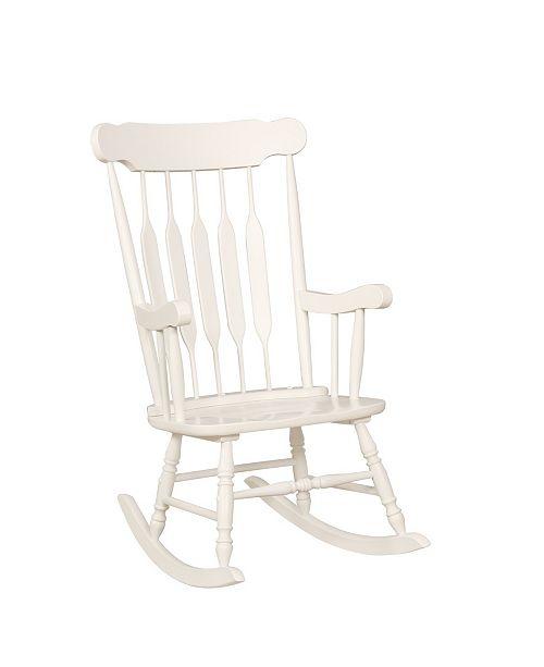 Fabulous Furniture Of America Tessa Traditional Rocking Chair Short Links Chair Design For Home Short Linksinfo