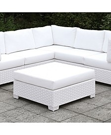 Arthur White Outdoor Large Ottoman
