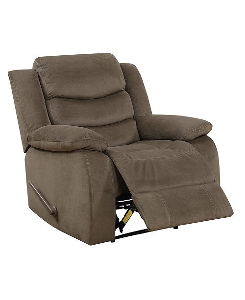 Furniture of America Kenyon Largely Glider Recliner Chair