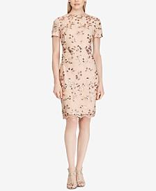 Lauren Ralph Lauren Sequin Lace Dress