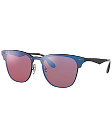 Ray-Ban Sunglasses, RB3576N BLAZE CLUBMASTER