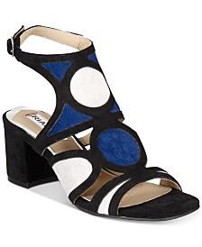 Rialto Saffron Block-Heel Slide Sandals
